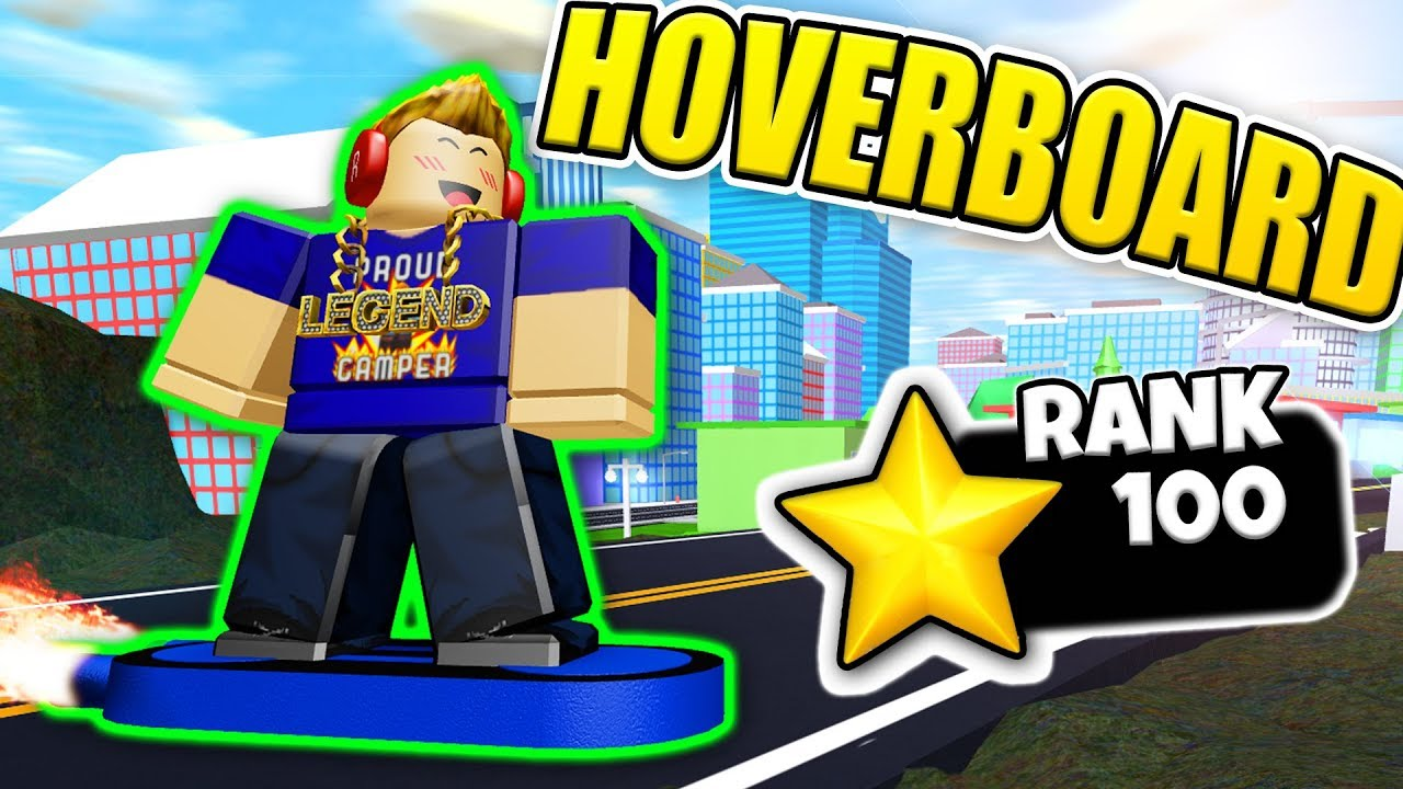 Season 3 Fastest Way To Get Rank 100 In Roblox Mad City Fastest Way To Unlock The Hoverboard Roblox Mad City Youtube