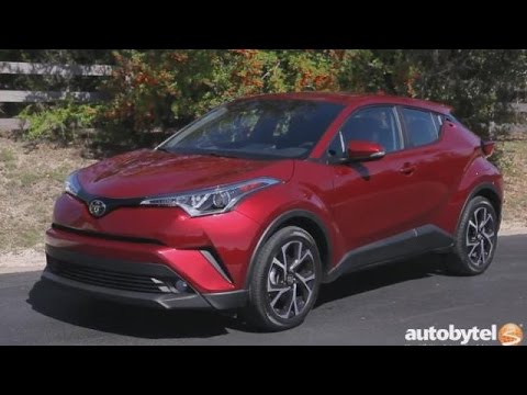 2018 Toyota C Hr Test Drive Video Review Brand New Crossover