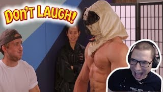 TRY NOT TO LAUGH CHALLENGE #12 w/ JUJIMUFU REACTION