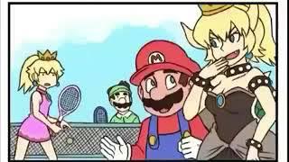 Super Mario Bowsette meme