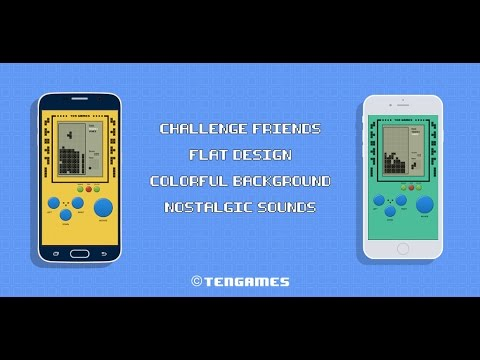 [Ten Games] Retro Brick Game Online