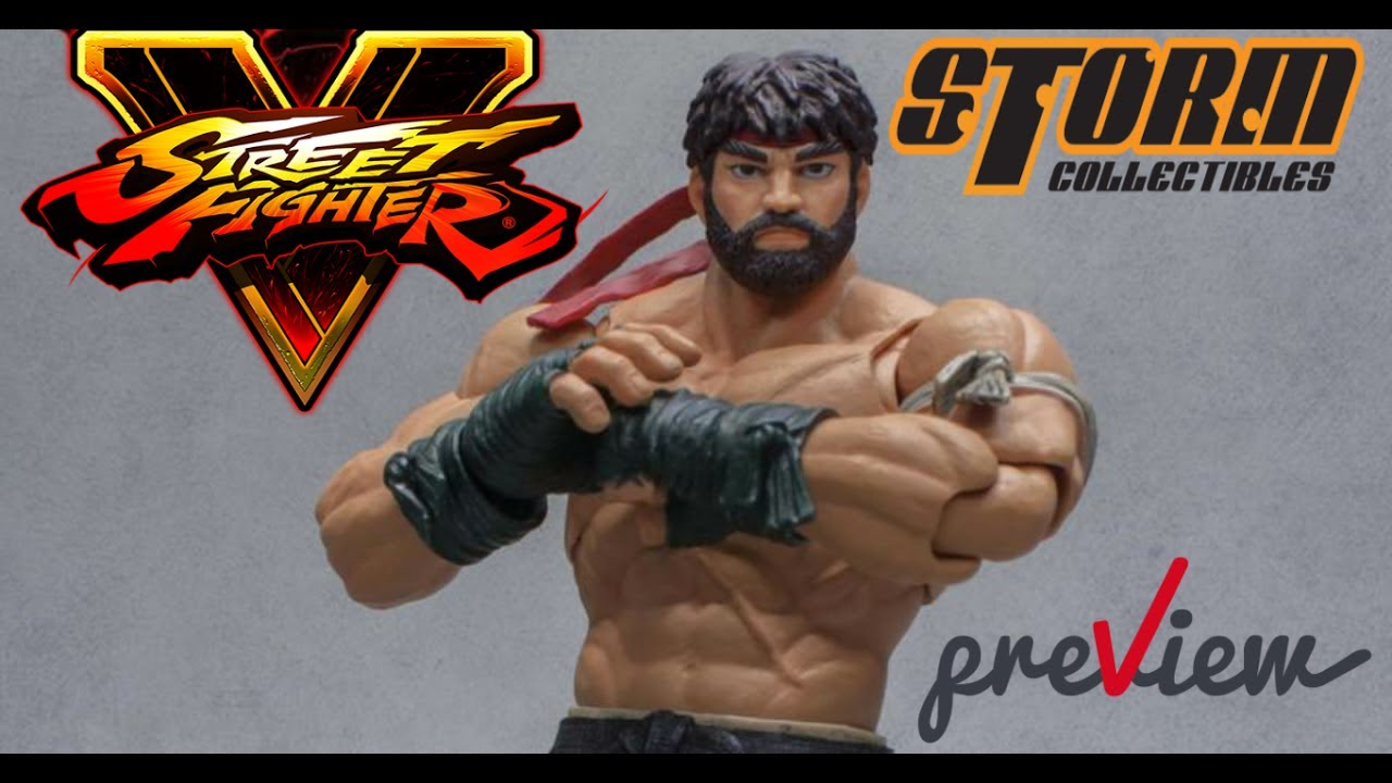 2017 San Diego comic-con Exclusive Storm Collectibles Hot Ryu Street Fighter V