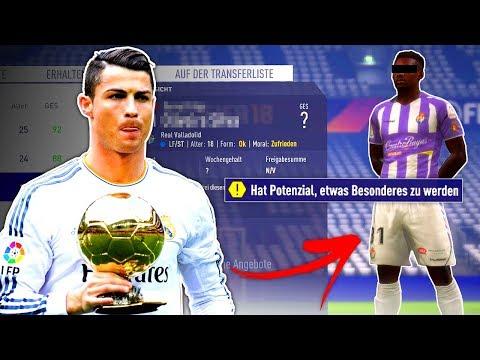 FIFA 18 : DIE WIEDERGEBURT VON CRISTIANO RONALDO !!! 🔥😍 Jena STG Karriere #21