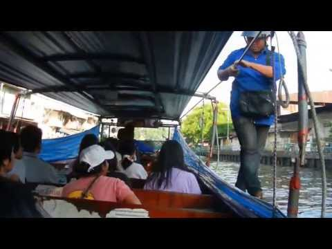 Bangkok Thailand Canal Ferry Boat 2013 (On Boat), Part 4