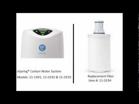 Amway Water Filter - Get The Right Replacement eSpring Filter For Your Amway System