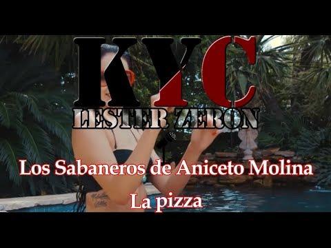 Los sabaneros de Aniceto Molina - La pizza - karaoke con coros
