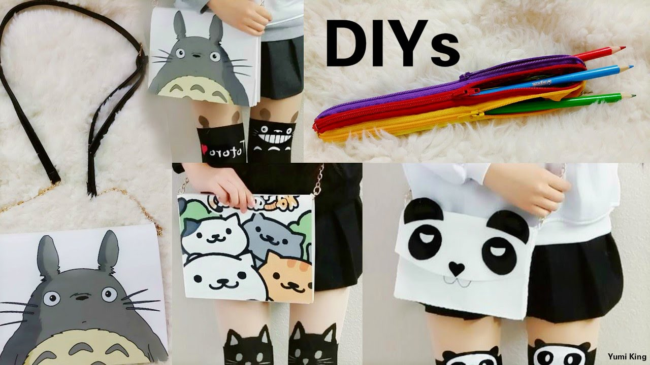 3 Creative Diys Diy Multiple Zippers Pencil Case Diy