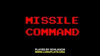 Arcade Longplay [621] Missile Command