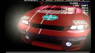 Ridge Racer V - Car Intro Sequences