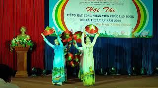 """Tiết mục Múa """"Việt Nam Quê Hương Tôi"""".  Trình bày: Hoa Cúc 1."""