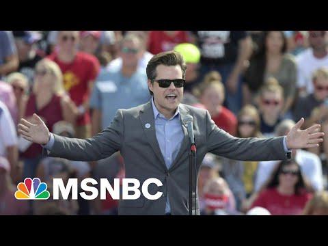 Rep. Gaetz Accuses Former DOJ Official Of A Multimillion-Dollar Extortion Plot   Morning Joe   MSNBC