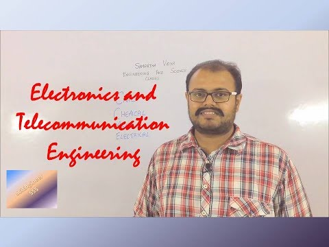 What is Electronics and Telecommunication Engineering???