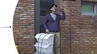 까사맘 세바퀴 캐리어 영상