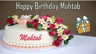 Happy Birthday Mahtab Image Wishes✔