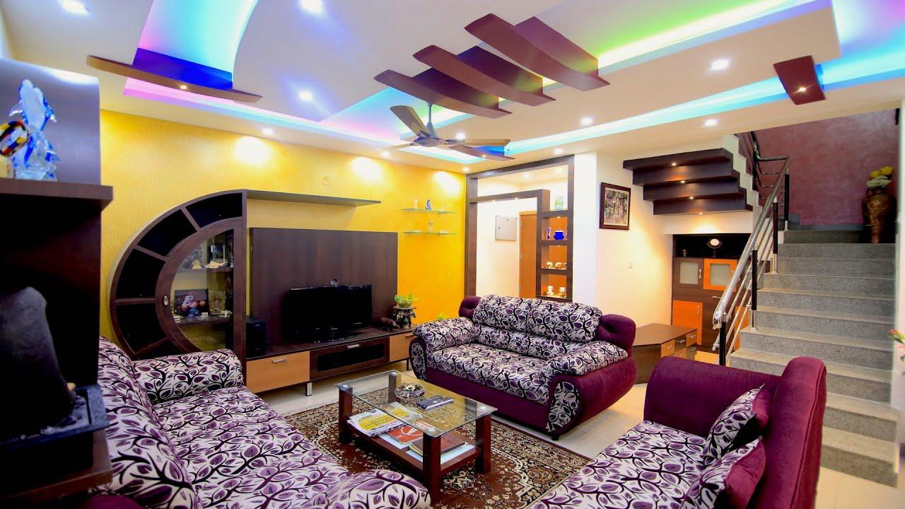 Mr Srinivasas House  Latest Interior Design  Mantri Alpyne Apartments  Bangalore  YouTube