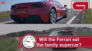 Ferrari 488 GTB vs Audi RS6
