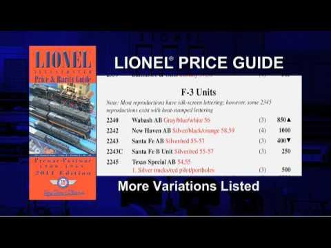 tm s 2011 lionel price rarity guide youtube rh youtube com tm's lionel price and rarity guide My Little Pony Rarity