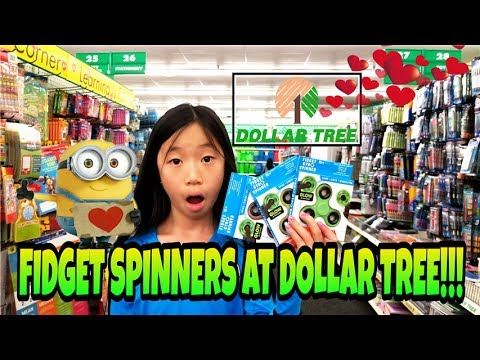 FIDGET SPINNERS AT DOLLAR TREE!!! GLOW IN THE DARK FIDGET SPINNERS AT DOLLAR TREE!!!