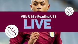 Re-run | Aston Villa U18 4-1 Reading U18