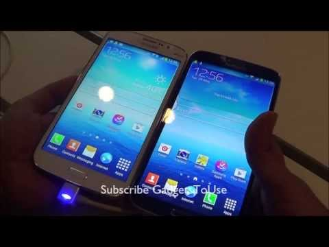 Samsung Galaxy Mega 6.3 VS Mega 5.8 Comparison Review - Specs, Battery and Processor