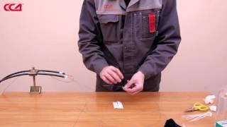 видео Муфта тупиковая оптического кабеля: особенности эксплуатации