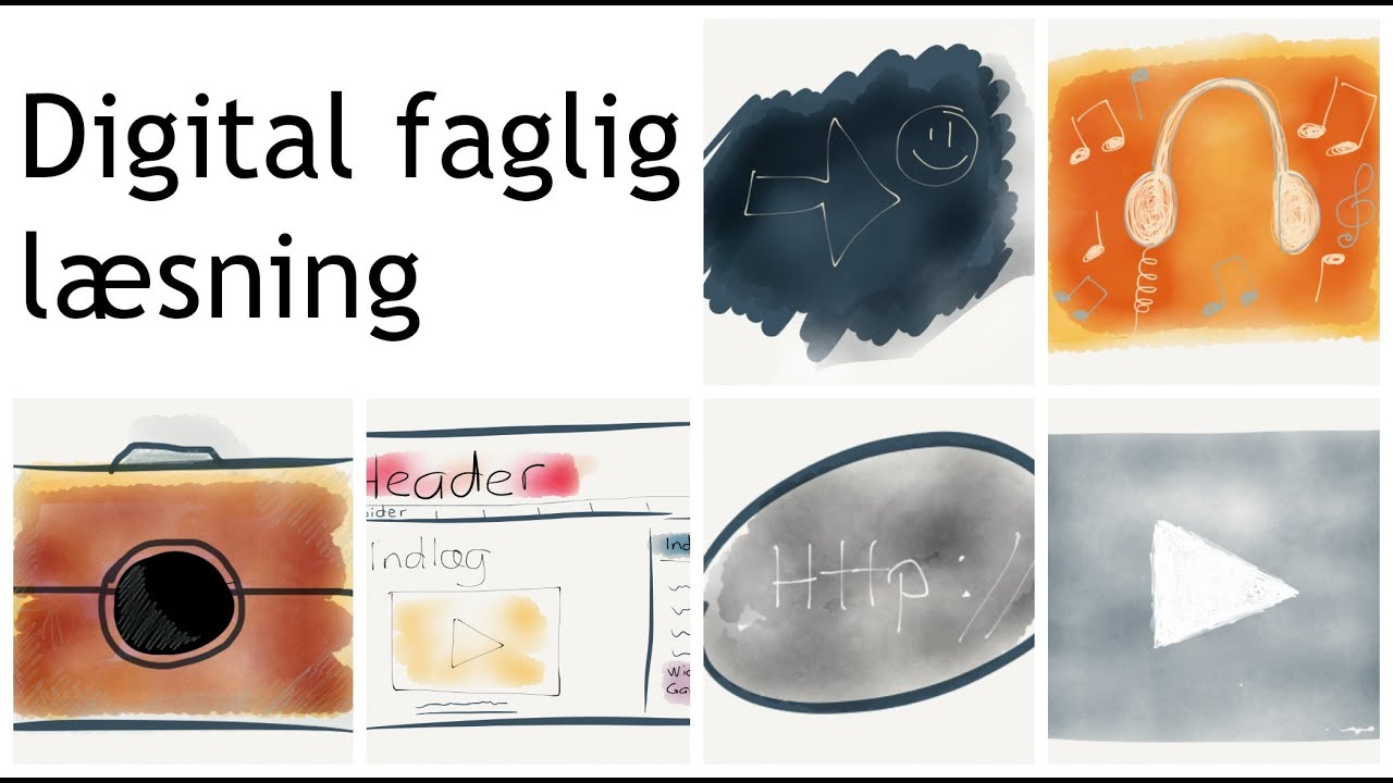Intro til undervisningsmaterialet Digital Faglig Læsning