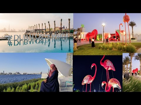 Dubai tourist place vlogs |Dubai creek harbour | Peaceful location in துபாய்|Cruising @Creek harbour