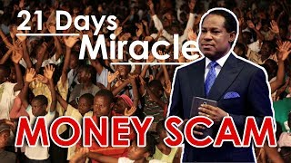 Pastor Chris Busted!!! - 21 Days Miracle Money Scam
