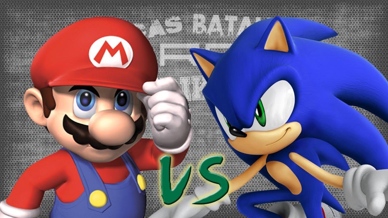 Mario vs Sonic picas Batallas de Rap del Frikismo  Keyblade