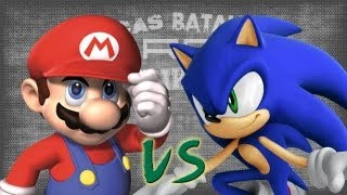 Repeat youtube video Mario vs Sonic. Épicas Batallas de Rap del Frikismo | Keyblade