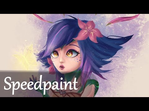Neeko Fan Art - League Of Legends [SPEEDPAINT]