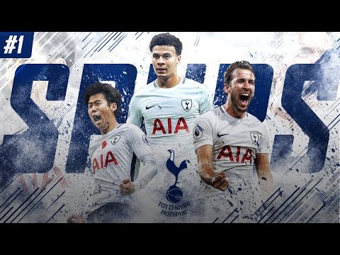 FIFA 18 Tottenham Career Mode - EP1 - New Challenge!! We Take On The Premier League!!