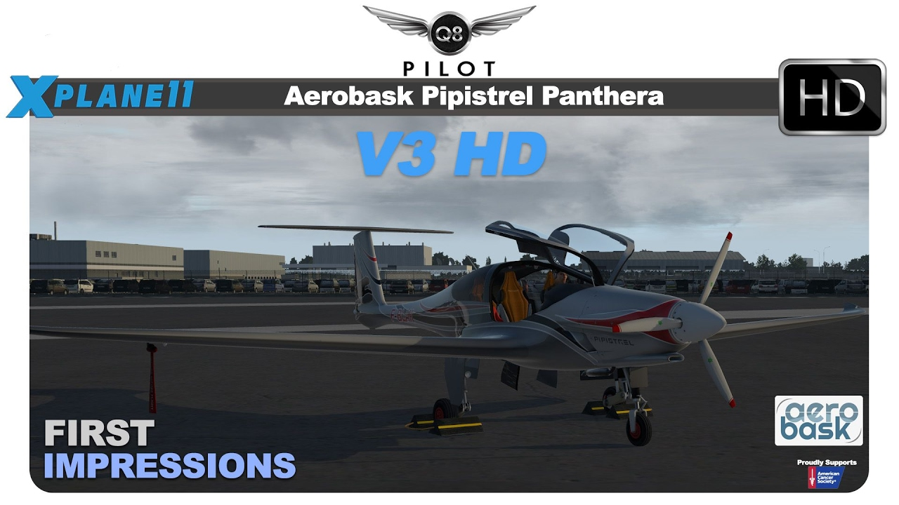 [X-Plane 11] Aerobask Pipistrel Panthera v3 | First Impressions
