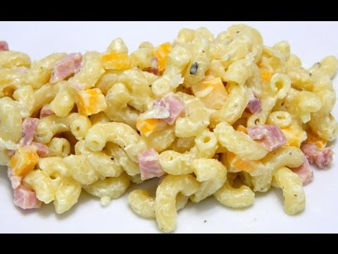 Puerto Rican style Macaroni Salad Ensalada de Coditos