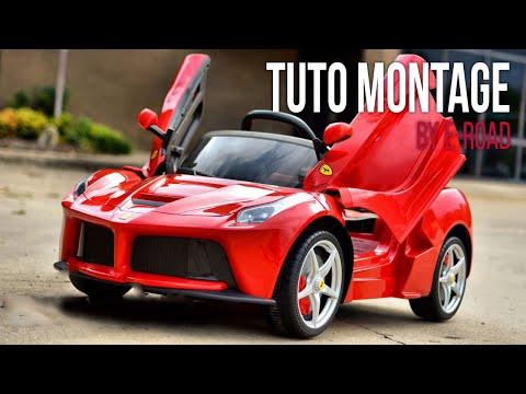 Enfants Ferrari Électrique Montage E La Road Pour Tuto De wP80XnNOk