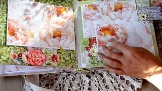 Альбом свадебный из бумаги