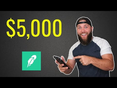Investing $5,000 on Robinhood (IN ONE DAY)!!!