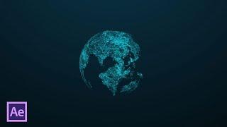 Создание планеты Земля с помощью Plexus в After Effects (Earth Planet with Plexus)