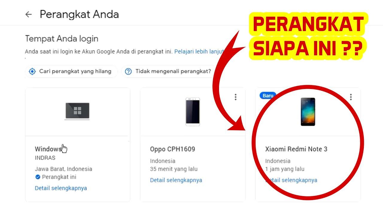Cara menghapus foto di akun google,cara menghapus logout perangkat orang lain dari akun google mengamankan akun