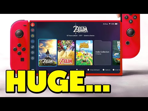 Nintendo Switch HUGE NEWS Has Dropped...