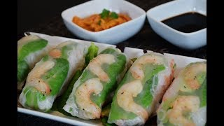 Spring Rolls Recipe, easy and delicious!