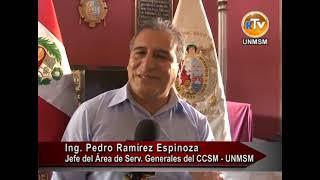 UNMSM implementa nuevo sistema de iluminación en la Capilla de Virgen de Loreto.