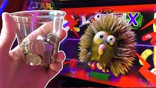 Tons of fun Playing arcade games with NICKELS!