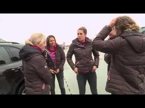 Germany's tennis women guests of Porsche in Leipzig