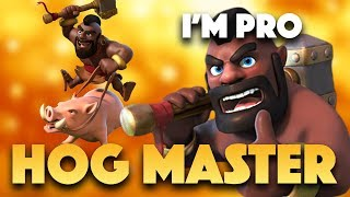 TH9 Hog Strategy | Top Good Hog Attacks By War Masters | Clash Of Clans