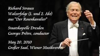 """R. Strauss: Waltz Sequence No.1 from """"Der Rosenkavalier"""" - Prêtre / Staatskapelle Dresden"""