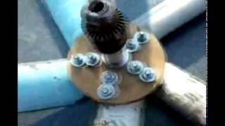 ветродвигатель без электричества сверлит и пилит и шлифует no electric wind motor 10 usd