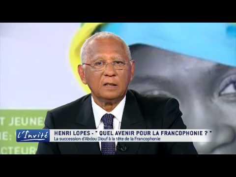 """Henri Lopes : """"Mon ambition pour la Francophonie"""""""