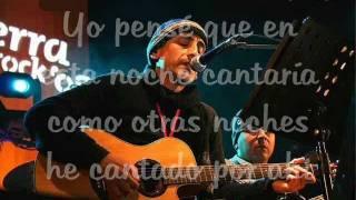 Daniel F - Canto por ti en vivo [Rock en el parque] (letra)