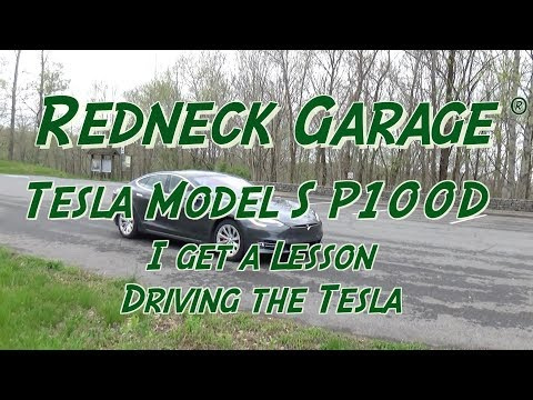 """Steve Visit and a """"Test Drive"""" of Tesla Model S P100D  & Autopilot"""